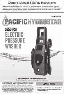 Pacific Hydrostar 1650 Psi Owners Manual Manualslib Makes