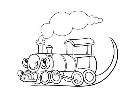 De Trein Kleurplaat by Kleurplaten Treinen