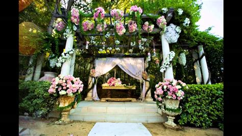 Best Garden Wedding Decoration Ideas Youtube