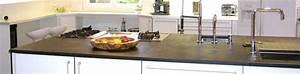 Plan De Travail Ardoise : ardoise cuisine plan de travail en ardoise sur mesure ou en dimensions standards conseils de ~ Preciouscoupons.com Idées de Décoration