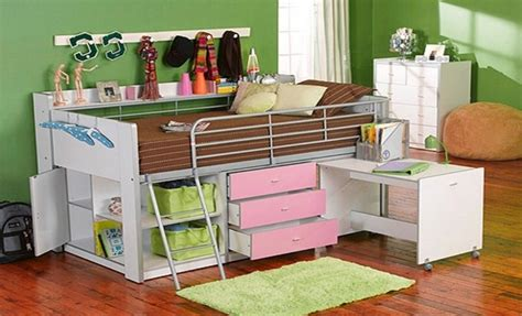 bed with desk and storage charleston storage loft bed with desk and shelves