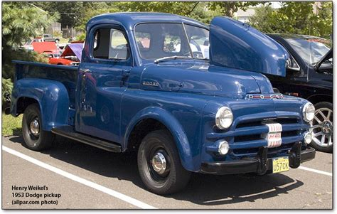 History Of The Dodge Pickup Trucks, 19211953