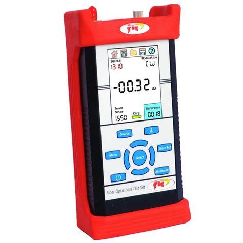 power meter light source test fis ov4 850 1300nm loss test set power meter light