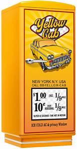 Kühlschrank Amerikanischer Stil : amerikanischer retro k hlschrank der 50er jahre in gelb mit yellow cabamerican diner m bel im ~ Orissabook.com Haus und Dekorationen