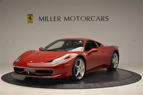 2011 458 Italia Price by Used 2011 458 Italia Greenwich Ct