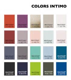 color usage women s intimate apparel fall winter 2015