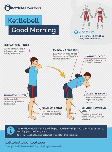 morning kettlebell exercise weights deadlift workout mornings barbell weight kettlebellsworkouts well
