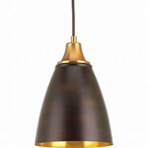 Pendant lighting long cord : Progress lighting pure led collection light antique
