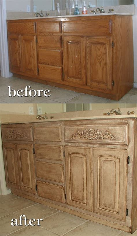 Ideas For Refinishing Kitchen Cabinets - how to refinish oak cabinets lighter www cintronbeveragegroup com