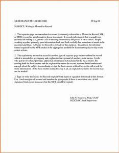 Example memorandum for record madosahkotupakkaco for Air force memo for record template