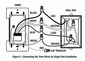 trouble installing 5 wire defiant daylight adjusting With timer switch wiring diagram