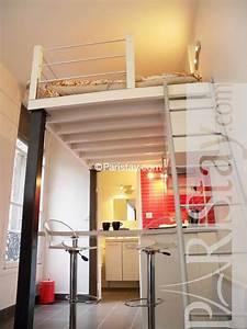 Studio Mezzanine Paris : paris location meubl type t1 studio place des vosges ~ Zukunftsfamilie.com Idées de Décoration