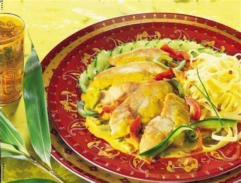 cuisiner du coq emincé de dinde au curry recette du quotidien maître coq