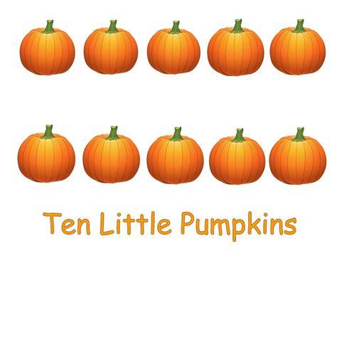 pumpkin rhymes preschool ten pumpkins emergent reader free printable 206