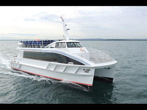Catamaran Ferry Australia by News Incat Crowther 18m Catamaran Passenger Ferry