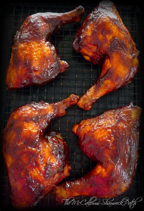 grilled leg quarters simple bbq d chicken leg quarters the mccallum s shamrock patch