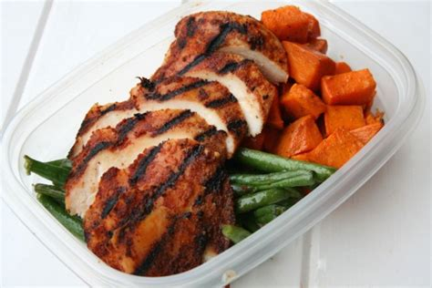 meals to do with chicken chipotle chicken meal prep w roasted sweet potatoes and green beans