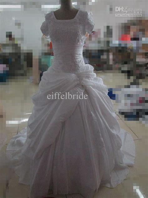 2015 Custom Islamic Women Wedding Dresses Real Image ...