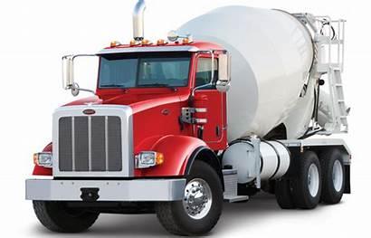 Peterbilt Truck Concrete Mixer Vocational Trucks Clip