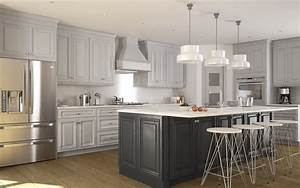 roosevelt dove gray pre assembled kitchen cabinets the With kitchen cabinet trends 2018 combined with temperature stickers