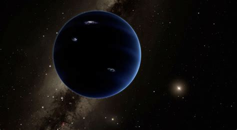 Planet Nine Might Be Pulling Our Solar System Out Of