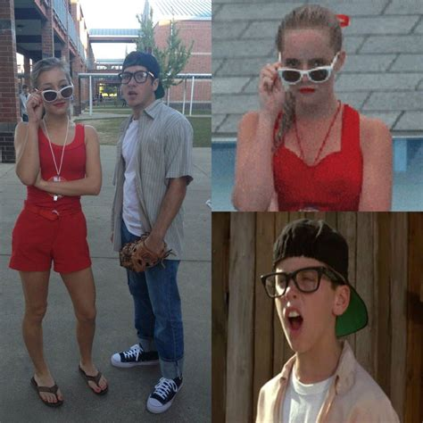 my little brother and his girlfriend wendy peffercorn and squints from the sandlot halloween