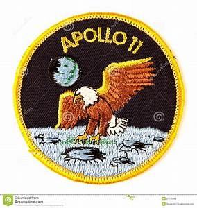 Apollo 11 Mission Space Suit Badge Stock Photo - Image ...