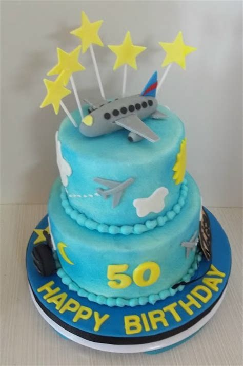 bobbies cakes  cookies flight attendant cake