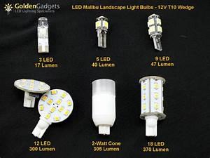 T wedge base led for malibu landscape lights