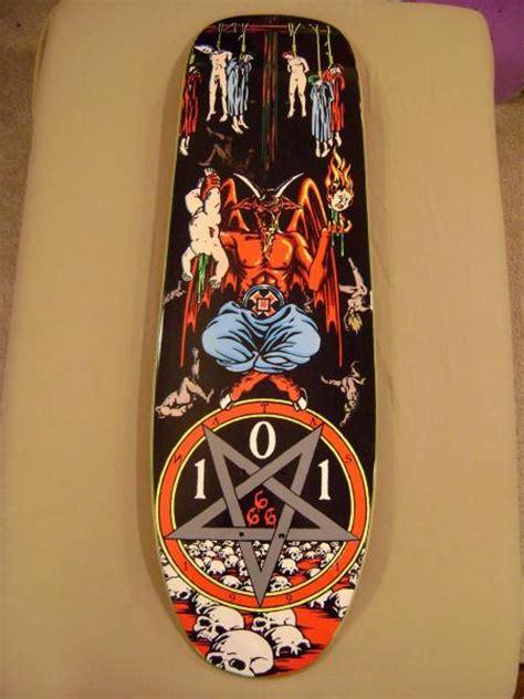 Natas Kaupas Deck Ebay by Cease And Desist 101 Natas Kaupas Worship Skateboard