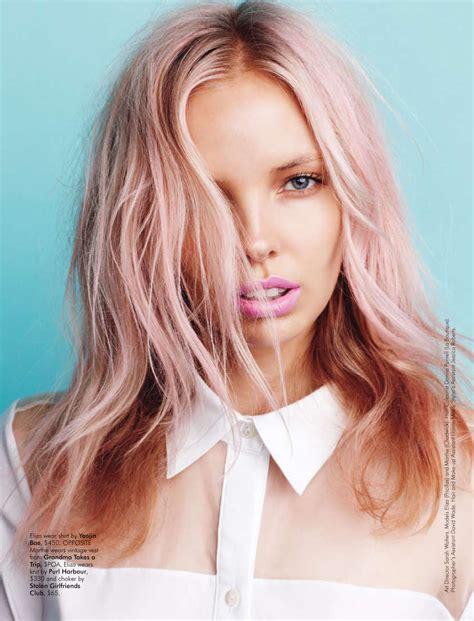 Pastel Hair Design And Diys
