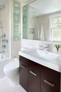 Small, Space, Bathroom, -, Contemporary, -, Bathroom, -, Toronto