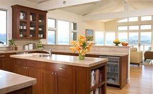 Plan De Travail Cuisine Marbre : cuisine plan de travail en lot de cuisine classique clair en marbre ~ Melissatoandfro.com Idées de Décoration