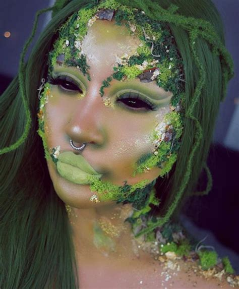 forest fairy halloween makeup  scary good