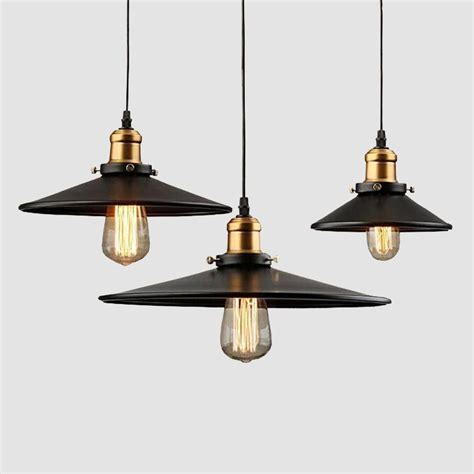 vintage lighting for 1 pcs loft rh industrial warehouse pendant lights american 6843