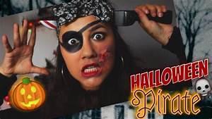 Maquillage Pirate Halloween : halloween maquillage de pirate simple rapide youtube ~ Nature-et-papiers.com Idées de Décoration
