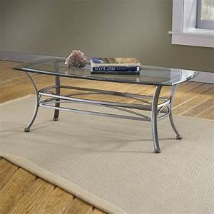 hillsdale abbington dark pewter coffee table with glass With pewter glass coffee table