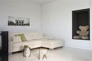 Resine Sol Blanc Brillant : rev tement sol en r sine poxy 35 id es en photos ~ Premium-room.com Idées de Décoration