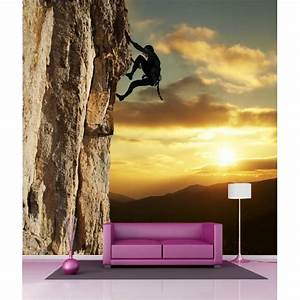 Papier Peint Geant : papier peint g ant d co escaladeur 250x250cm art d co ~ Premium-room.com Idées de Décoration