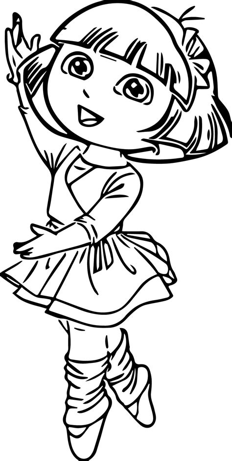 ballerina coloring pages coloringsuitecom