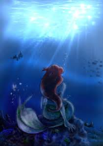 Disney Little Mermaid Ariel Fan Art