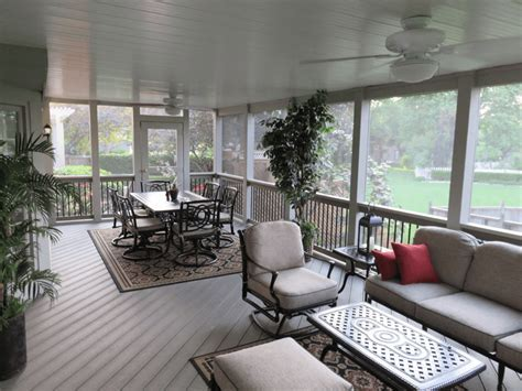 Best Screened In Porch Flooring Options