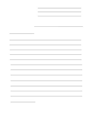 letter writing template  kayld teaching resources