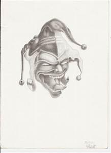 Dessin Qui Fait Tres Peur : un beau jocker au crayon de papier blog de djidjinicolas ~ Carolinahurricanesstore.com Idées de Décoration