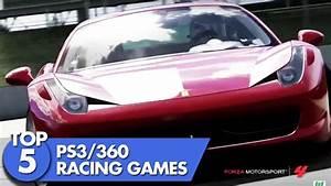 Top 5 Ps3 U0026 Xbox 360 Racing Games Youtube