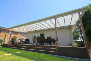 Flyover Patio by Verandah With Clear Flat Roof Photo Pergola Land Sydney Nsw