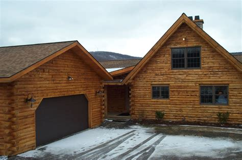 Home Garage by Stoney Ridge Log Homes Products