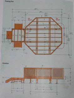 learn   build  octagon shaped deck octagon decks
