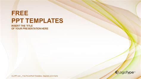 pink green abstract powerpoint templates