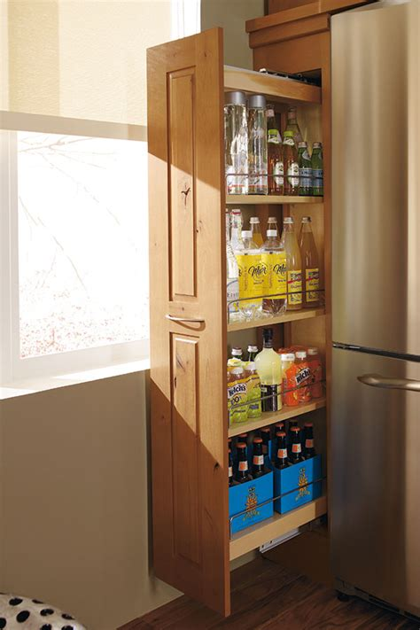 pull out her cabinet pantry cabinet pull out decora cabinetry
